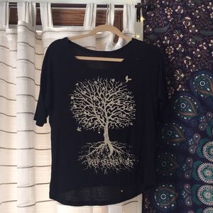 Deep Seeded Roots t-shirt